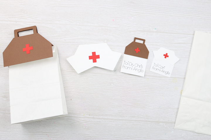 making healthcare gift bags