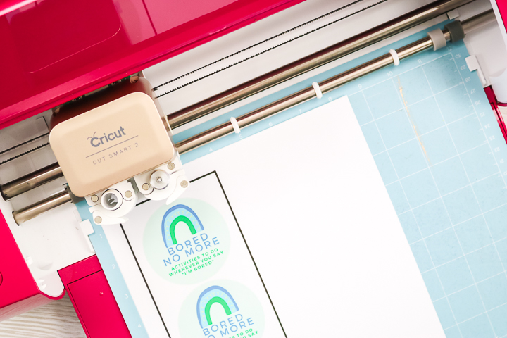 using printable vinyl on a cricut