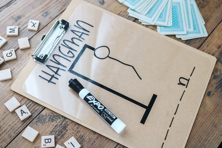 diy hangman game