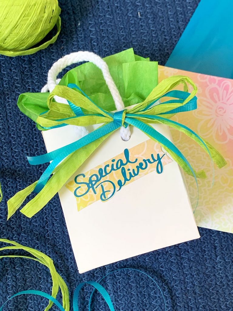 self-stick gift tags