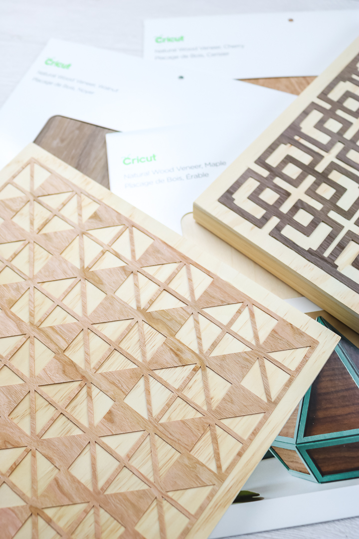 wood veneer craft ideas