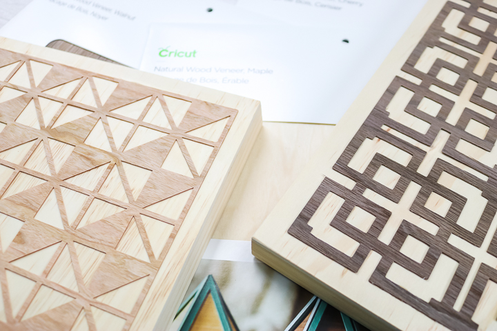 cricut explore cutting wood