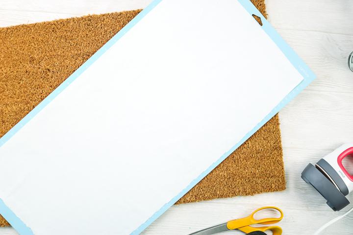 freezer paper on cricut mat