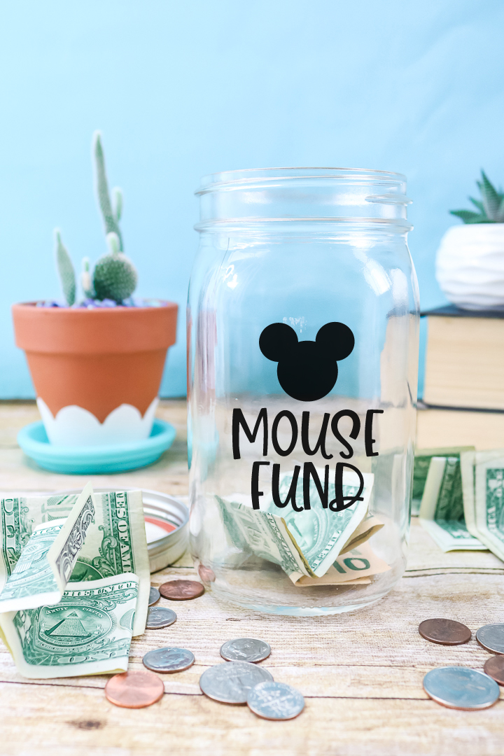 mouse fund jar