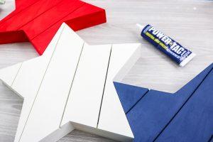 glue wood stars together