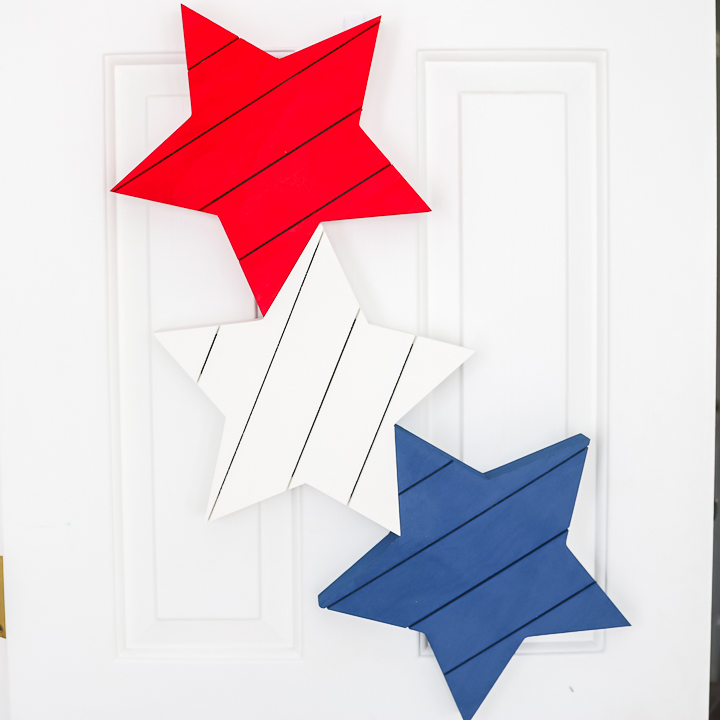 pallet stars 4th of july wreath