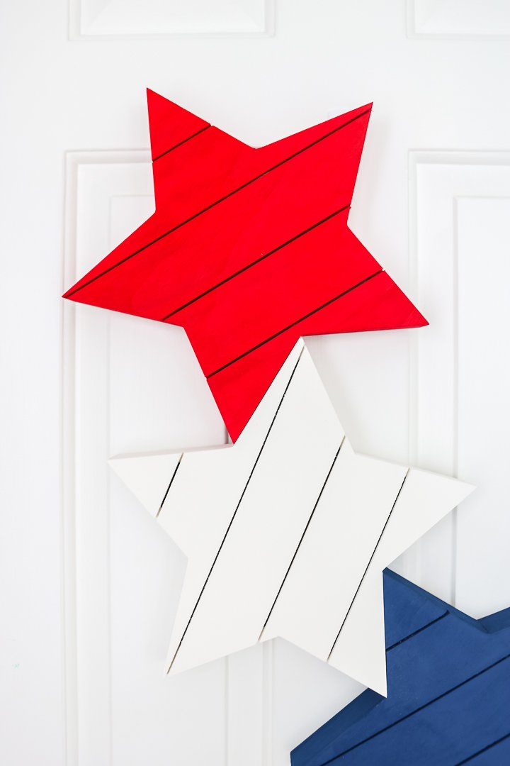 patriotic wood wreath