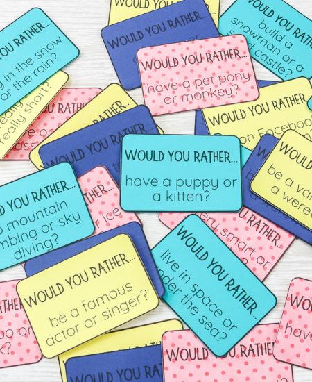 would you rather cards cut on cricut