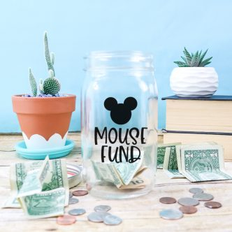 disney saving jar