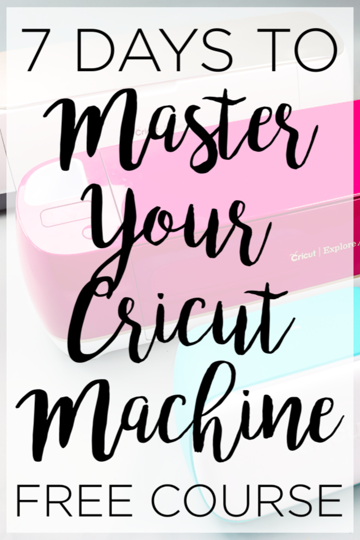 Looking for free Cricut classes to help you learn your machine? Look no further than this 7 day course that has everything you need to know! #cricut #cricutcreated #cricutcourse #cricutclasses #cricutmachine #cricutlove #cricutexplore #cricutmaker #cricutjoy