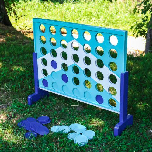 painted backyard game