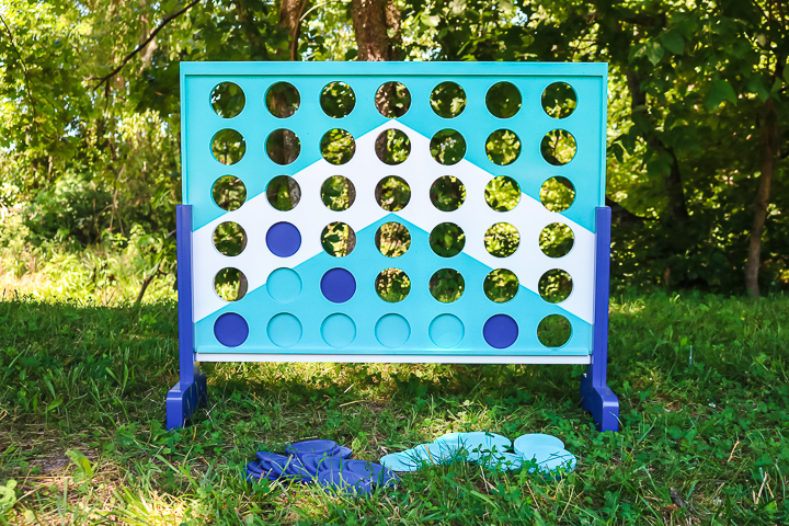 DIY outdoor game