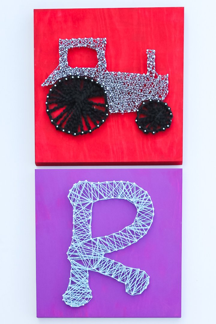 diy string art craft idea