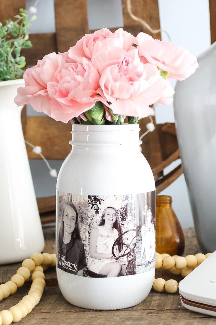 picture mason jar