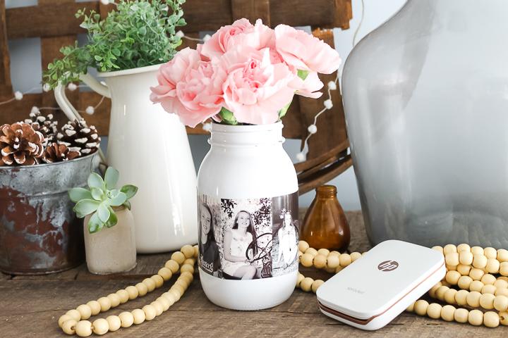 mason jar centerpiece for parties