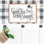 Free Sweet Tea SVG and Porch Sign