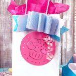 Cute Cutout Cupcake Gift Bag