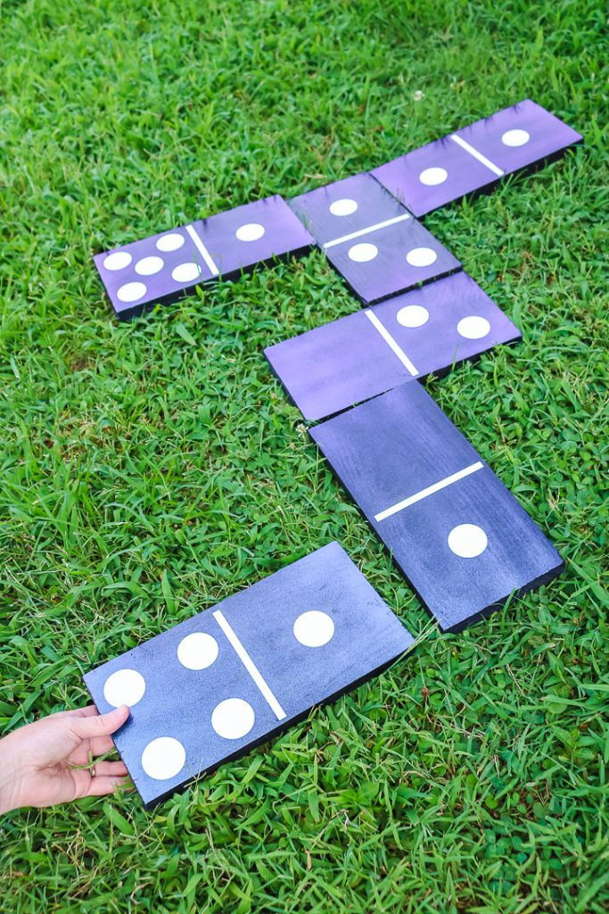making diy dominoes instructions
