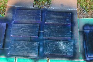 painting rustoleum color shift spray paint