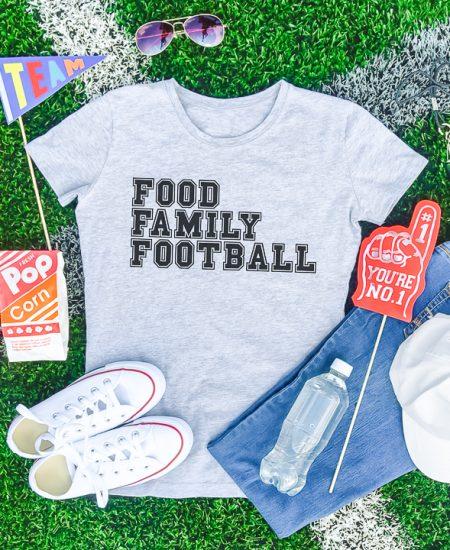 food family football svg file