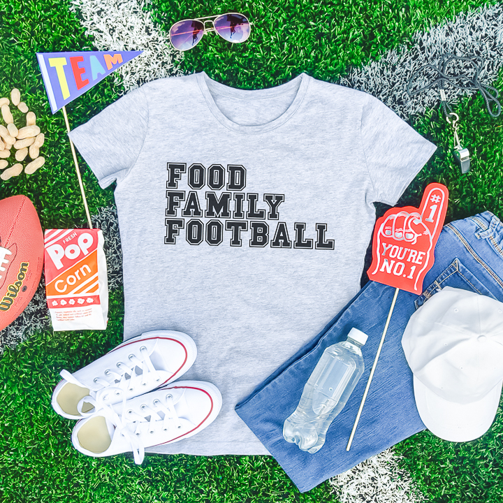 food family football svg file