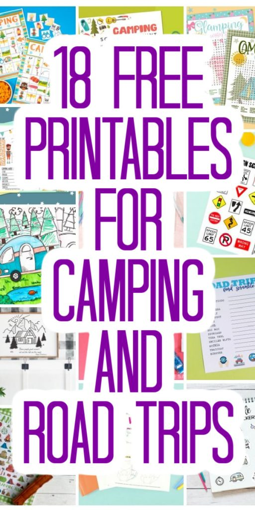 free printables for camping