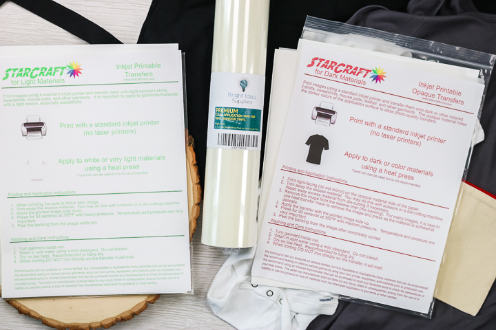 starcraft printable heat transfer vinyl tutorial