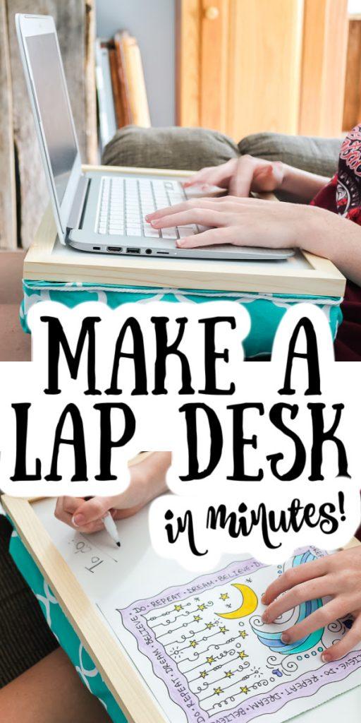making a lap desk