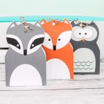 Free Printable Gift Bags with Woodland Animals