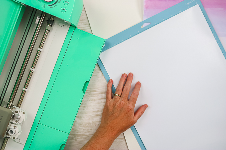 cutting glitter heat transfer vinyl with a cricut