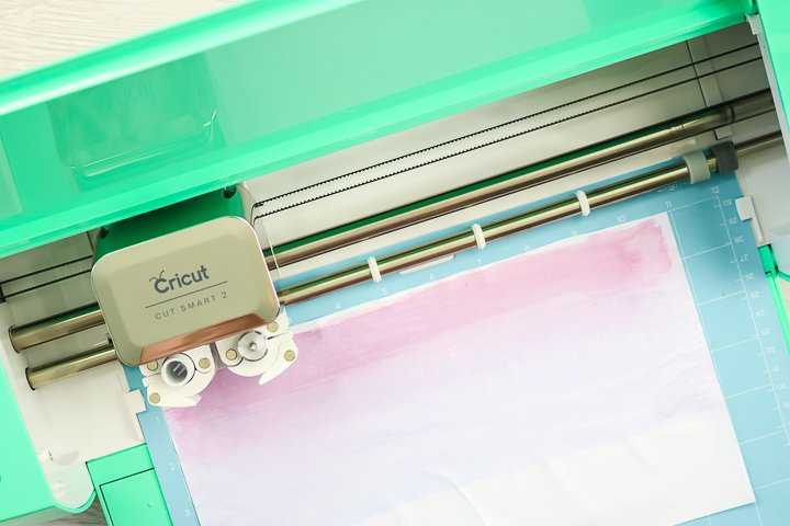 cutting sublimation paper on a cricut