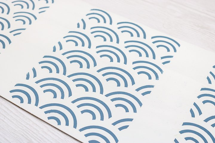 removable vinyl stencil