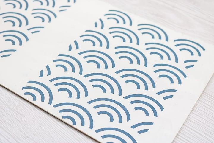 permanent vinyl stencil