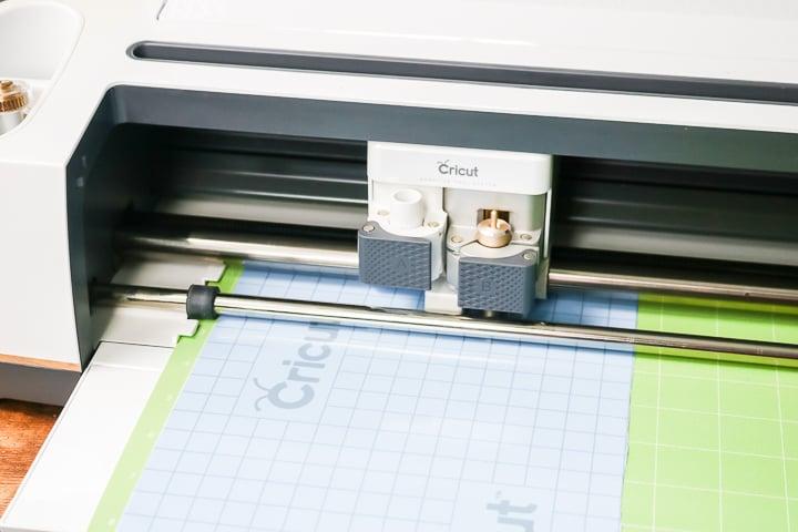 cutting stencil vinyl on a cricut maker