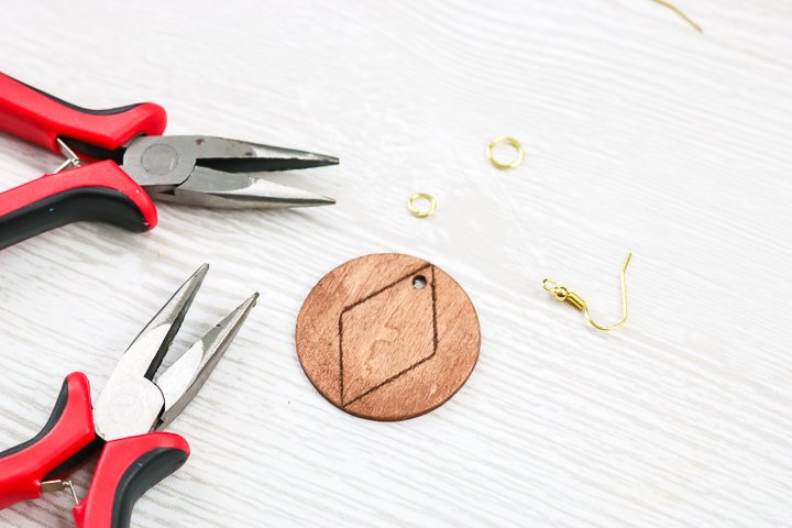 adding earring hooks to jewelry