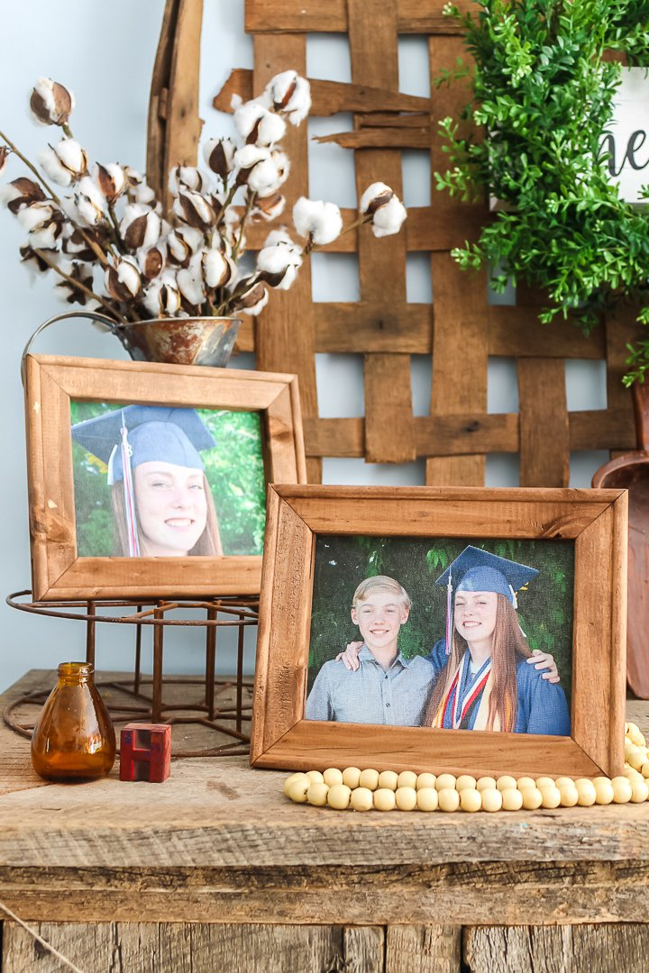 make a framed canvas picture