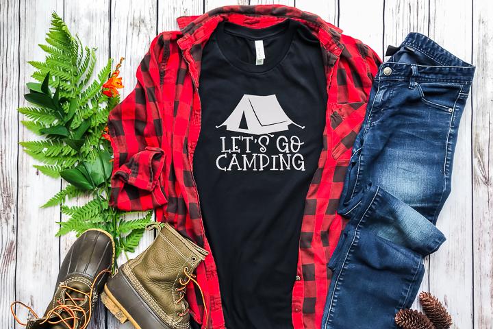 free camping cut file