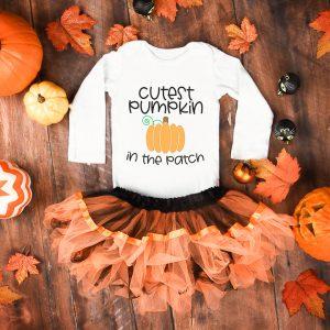 pumpkin onesie