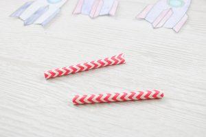 cutting straws for rockets