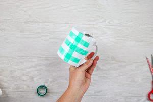 sublimation wrap on a mug