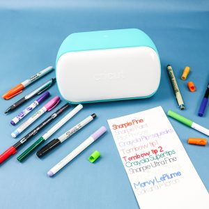 how to use pens in the cricut joy