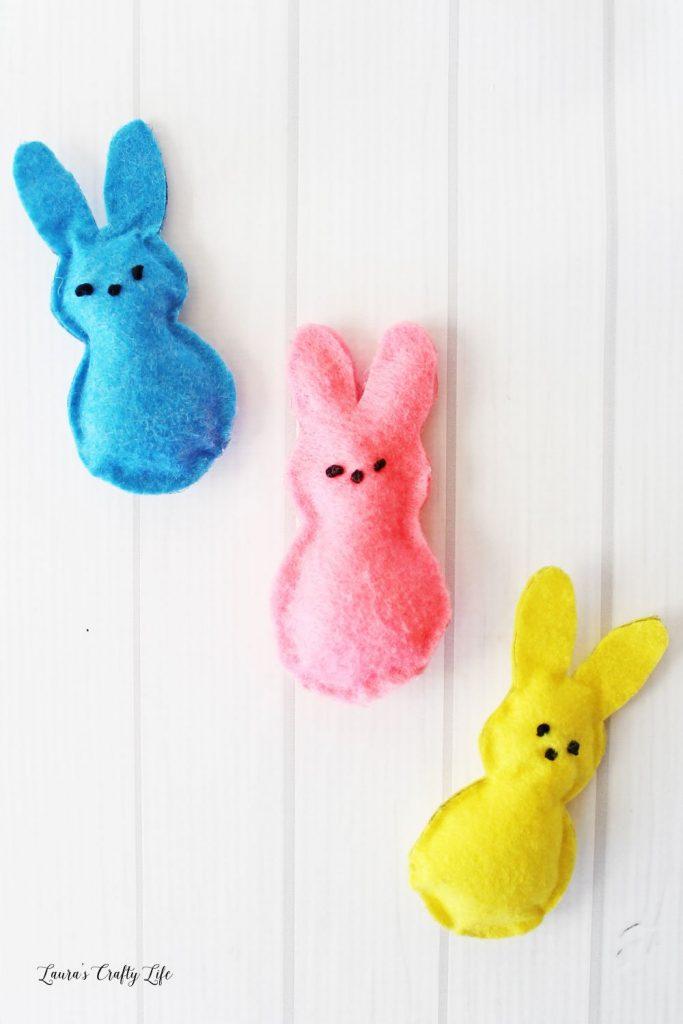 Peeps bunny craft