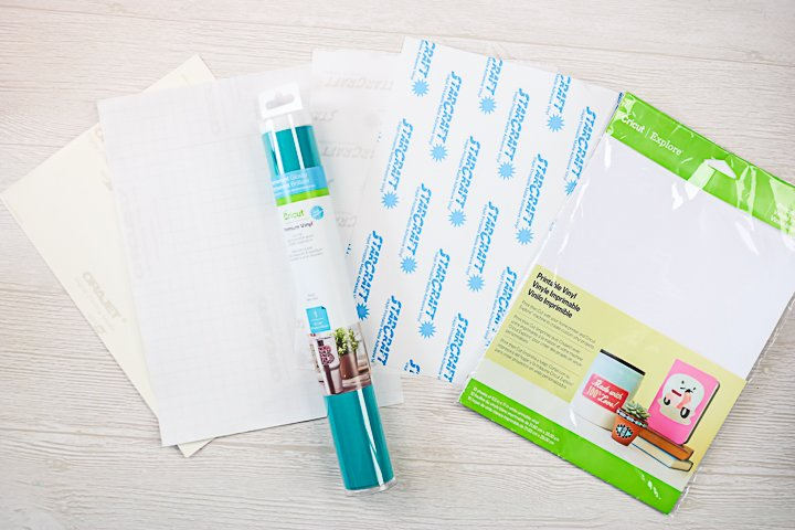 materials to make car decals with a cricut
