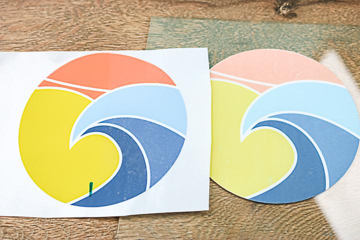 cricut printable vinyl used outdoors