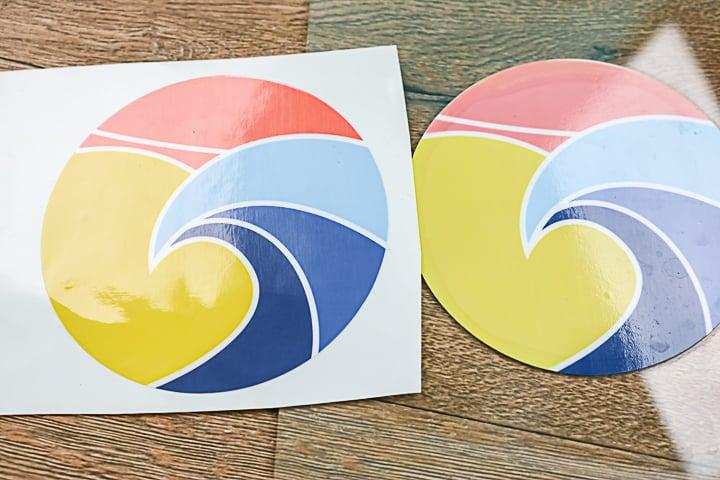 orajet printable vinyl used outdoors