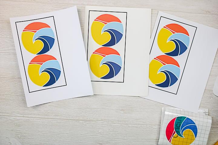 printable vinyl car stickers