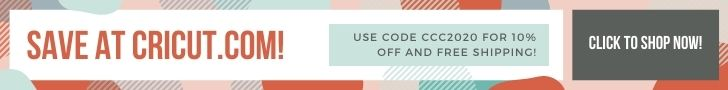 save with this cricut coupon code