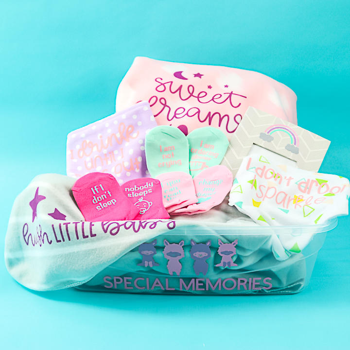 dollar store gift basket for baby