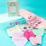 Cricut Dollar Store Crafts Perfect for Baby Showers