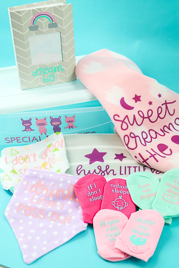 baby shower dollar store crafts